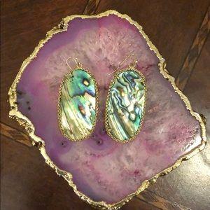 Kendra Scott Classic Earrings in Abalone Shell